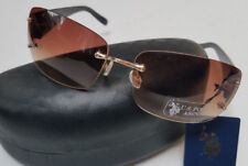 US POLO ASSN Sunglasses Black Gold New w/ Tags & Hard Case Mens Unisex GT2 83069