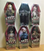 Living Dead Dolls Series 5  FULL SET of 6 INCLUDING VERY RARE MYSTERY DOLL