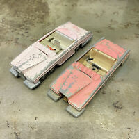 dinky toys Lady Penelope's Car Fab 1 Thunderbirds Two Models For Restoration