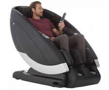 Gray Human Touch Super Novo Zero Gravity 4D S and L Track Massage Chair Recliner