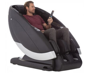 Gray Human Touch Super Novo Zero Gravity 4D S and L Track Massage Chair Recliner