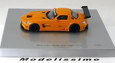 1:43 Spark Mercedes SLS AMG GT3 Pure orange 2010 orange