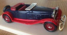 ELIGOR 1038 DELAGE D8 1934 CABRIOLET OUVERT  1:43 SCALE MODEL CAR MIB