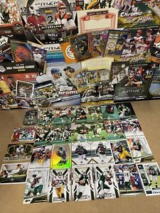New York Jets NFL Card Lot X28 Prizm Cards SP Topps Platinum 🏈🔥