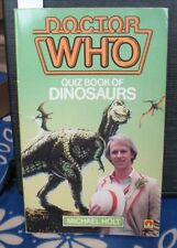 RARE: Doctor Who Quiz Book of Dinosaurs, 1982. Lovely, in fact! % to charity do.