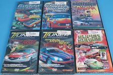 6 Full Throttle automotive DVD's Mopar Madness Tuner Transformation Racetrack Tr