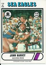 Manly Sea Eagles 1976 Rugby League (NRL) Trading Cards