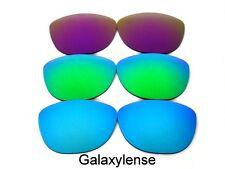 Galaxy Lentes De Repuesto Para Oakley Frogskins blue&green&purple Polarizados