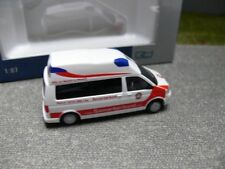 Praline busch Fiat Fiorino bomberos Graz Austria GW dispositivos auto rojo 1:87 h0