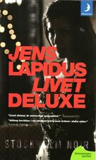 Buch Schweden schwedisch LIVET DELUXE, Jens Lapidus