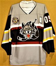 """CHICAGO WOLVES """"ALPHA WOLF"""" No #s AMERICAN HOCKEY LEAGUE AHL Size 2XL JERSEY"""