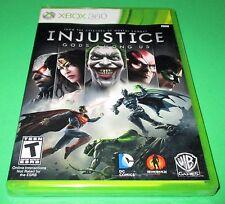 Injustice: Gods Among Us Microsoft Xbox 360 *Factory Sealed! *Free Shipping!