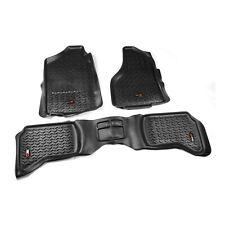 Rugged Ridge Front/Rear Floor Mats DODGE RAM 1500 Quad Cab (2002-2011) Black