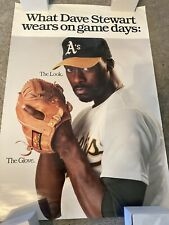 Dave Stewart Oakland A's - Easton Promotional Poster