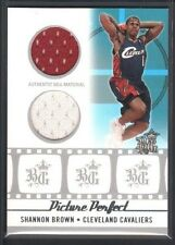 SHANNON BROWN 2006/07 TOPPS BIG GAME PICTURE PERFECT JERSEY CAVS 60/99 SP $15