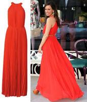 New Ted Baker Haylea Pleated Maxi Dress Sz 3,4