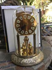 "Vintage German ""Kundo"" brass anniversary clock"