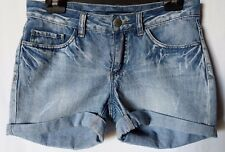 "WOMEN'S SHORTS MINI VERO MODA DISTRESSED 100% COTTON SIZE 9/27"" FREE POSTAGE"