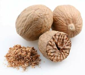Nutmeg Whole or Ground (Powder), Excellent Quality from Indonesia, 2021,Free P&P