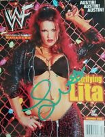 Lita ( WWF WWE ) Autographed Signed 8x10 Photo REPRINT