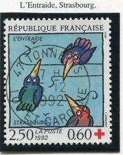 STAMP / TIMBRE FRANCE OBLITERE N°  2783 ENTRAIDE STRASBOURG /