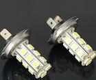 2 X Car Vehicle H7 18 5050 SMD LED Xenon White Light Bulbs Lamp Headlight New