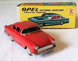 SSS International Toys Japan Friction OPEL OLYMPIA REKORD COUPE CAR V RARE MIB