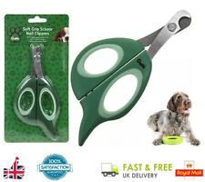 Crufts SOFT GRIP SCISSOR NAIL CLIPPERS Pet Dog Grooming Manicure Pedicure Claws