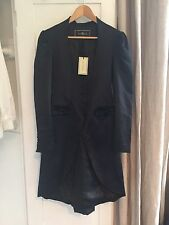 By Malene Birger Black Womens Fitted Coat, Alvarine