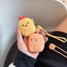 Cute Sumikko Gurashi AirPods Silicone Case Cover for Apple Airpods Charging Case