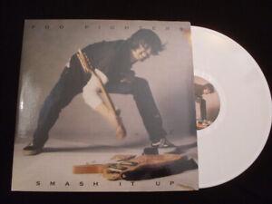 "Foo Fighter""Smash It Up"" White Vinyle 33 LP Live-Press Spain 2015-Rare-Tested EX"