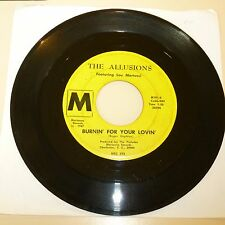 SOUTH CAROLINA GARAGE BAND 45 RPM RECORD - THE ALLUSION - MARIANNA 101 - LISTEN