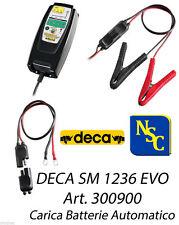 Carica Batterie Automatico comodo Deca SM 1236 EVO 12 Volt - Moto Auto 300900