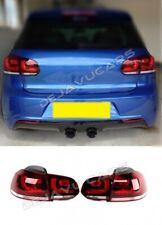 VW Golf 6 VI LED Rückleuchten Heckleuchten R R20 GTI GTD TDI FSI TFSI Kirschrot