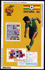 Bolivia bl. 118 **, fútbol WM 1982