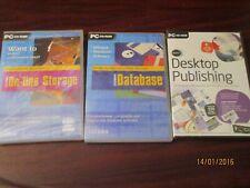 PC Cd Roms - Desktop Publishing, Database, Online Storage Windows