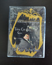 "Nightmare Before Christmas ""The Mayor Starter Deck"" Card Game"