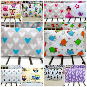 Baby Pillow / Cotton / Soft, Antiallergic, Size 25-35cm for a Pram, bed,Car