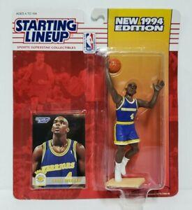CHRIS WEBBER - Golden State Warriors Starting Lineup SLU 1994 NBA Figure & Card