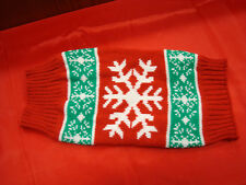 Holiday Snowflake Sweater Size small for Dogs