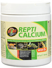 New listing Zoo Med Reptile Calcium with Vitamin D3, 8-Ounce
