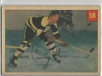 1954-55 PARKHURST # 58 DAVE CREIGHTON NICE CARD