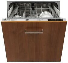BEKO DW603 Built in Integrated Full Size 60cm A+ Rated Electronic Dishwasher