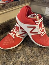 New Balance Low-Cut 3000v3 Metal Baseball Cleat Mens Shoes Red Size 12.5