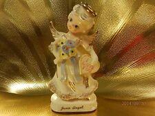 V RARE VTG Knobler Japan June Bride Birthday Angel Girl Figurine w/ Orig Sticker