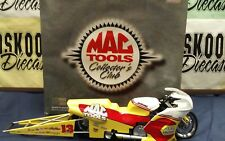 RON AYERS #13 MAC TOOLS.CLUB PIECE 1999 PRO STOCK MOTORCYCLE ACTION 1:9 SCALE