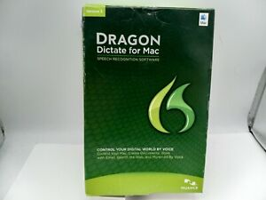 Dragon Dictate for MAC Version 3 w/ Headset - PRE-OWNED
