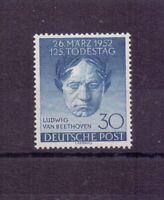 Berlin 1952 - Beethoven - MiNr. 87 postfrisch** geprüft - Michel 45,00 € (885)