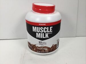 Muscle Milk, Genuine Protein Powder, Chocolate 4.94lbs