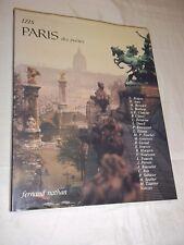 """""""PARIS DES POETES"""" IZIS BIDERMANAS (1977) PHOTOS / POESIE"""